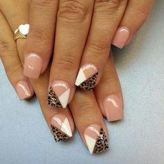 I like this but I would do every nail the same I think