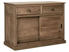 Buffet 2 portes + 2 tiroirs ALONG - Vente de Buffet, bahut, vaisselier - Conforama