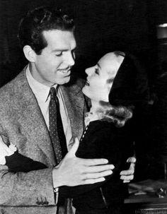 Carole Lombard and Fred MacMurray