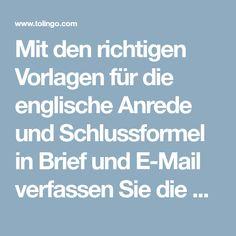 Englische Briefe E Mails Verfassen Termin Vereinbaren Jemanden