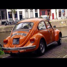 #Volkswagen #Beetle #Amsterdam