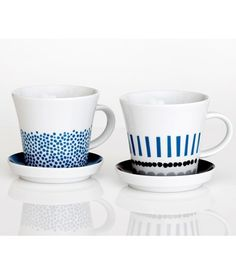 Darling Clementine - Tasse Mug avec soucoupe Harvest