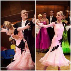 Beautiful soft pink DLK ST dress for sale! #soft_pink #dlk #dressforsale #ballroom