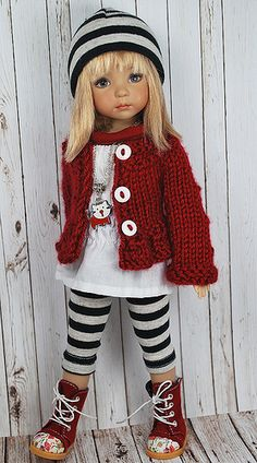 Irresistible Crochet a Doll Ideas. Radiant Crochet a Doll Ideas. Crochet Doll Clothes, Knitted Dolls, Girl Doll Clothes, Doll Clothes Patterns, Crochet Dolls, Girl Dolls, Baby Dolls, Pretty Dolls, Cute Dolls