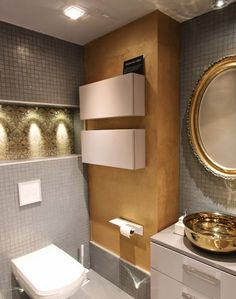 Bathroom feature wall