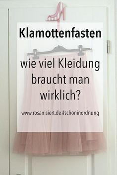 My Lenten intent: Klamottenfasten – how much clothing do you really need? - 2019 DIY And Craft Fast Fashion, Slow Fashion, Fashion Beauty, Kids Fashion, Capsule Wardrobe Essentials, Do You Really, Less Is More, Ethical Fashion, Everyday Look