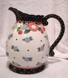 Mary Engelbreit Pitcher OH SO BREIT Me Ink 2000 Michel & Co NIB Brand NEW!
