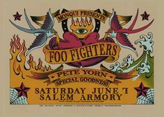 Foo Fighters Concert Poster by Gary Houston (SOLD OUT)