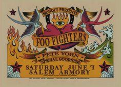 Foo Fighters Poster, illustration