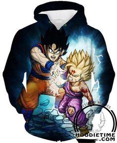 Goku and Gohan Hoodie dragon ball z