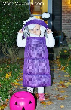Good how-to Monster Inc. Boo Monster Costume