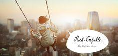 Die Welt von oben! Finde dein ganz persönliches #Hochgefühl und lass dich von unserem neuen Themen-Special inspirieren: http://de.justaway.com/reise-urlaub-special/hoch-gefuehle/ #Berge #wandern