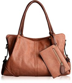 AB Earth 2 Or 3 Pieces Combo Purses Hobo Handbag PU Leather Totes Matching Wallet Satchel Shoulder Bag
