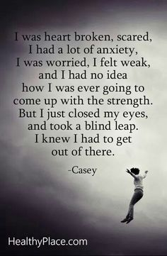 86 best dvside effectshealing and more images on pinterest abuse quote i was heart broken scared i had a lot of anxiety i was worried fandeluxe Choice Image