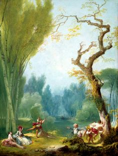 A Game of Horse and Rider, by Jean-Honore Fragonard Art Print on Canvas Magnolia Box Size: Extra Large Canvas Artwork, Canvas Art Prints, Framed Art Prints, Painting Prints, Wassily Kandinsky, Fragonard Paintings, Monet, Jean Antoine Watteau, Jean Honore Fragonard