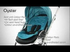 Babystyle Oyster Pram and Pushchair and Collection