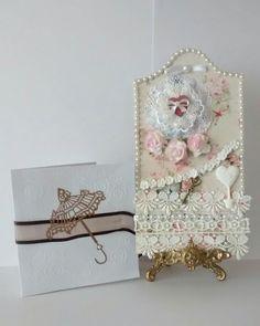 RAK with a delightful card with tea bags inside.....cute!