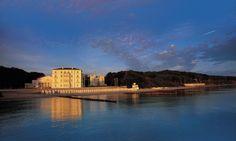 Ansicht von der Ostsee auf das Grand Hotel Heilige