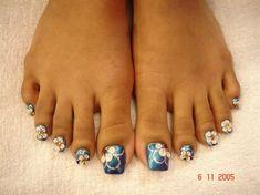 Long Acrylic Toes - Nail Art Gallery nailartgallery.nailsmag.com ...