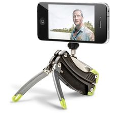 The Gerber Steady Multitool includes a tripod. COOL!