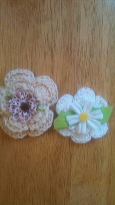 Crochet flowrrs