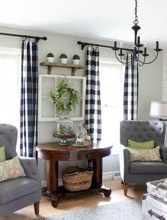 06 modern farmhouse living room decor ideas