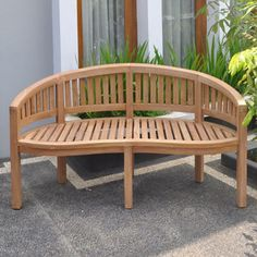 teak garden bench Teak Garden Bench, Teak Garden Furniture, Outdoor Furniture, Outdoor Decor, Tree Seat, Table And Chair Sets, Patio Table, Adirondack Chairs, Wicker