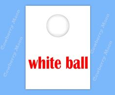 "Teach Baby to Read Book ""white ball"" Page Instant Download,Homeschool Book ""white ball"" Page,Learn To Read Printable Page,Flashcards by CowberryMoon on Etsy"