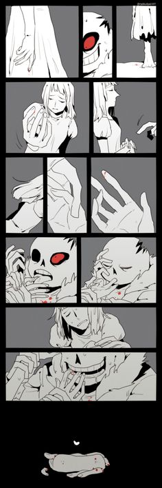 Read Crossmare from the story Undertale Pictures by Nightmares_Waifu with reads. Undertale Ships, Undertale Fanart, Undertale Comic, Horror Sans, Sans X Frisk, Undertale Pictures, Underswap, Yandere Simulator, Bendy And The Ink Machine