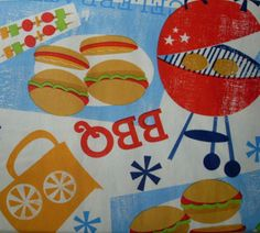 52x52-Square-Picnic-BBQ-Grill-Elrene-VINYL-flannel-backed-TABLECLOTH-multi-color