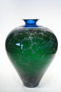Spring Primavera Amphora � Fusion Art Glass Online Store