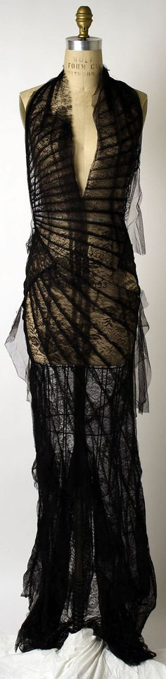 Evening Dress, Evening Gown, Splendid Evening Dress Design, Fashion Designer, Evening Dress Designer, Miracle Gown    Roberto Cavalli (Italian, born 1940)  Date: spring/summer 2001 Culture: Italian Medium: silk