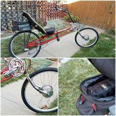 electric bike conversion kit on recumbent