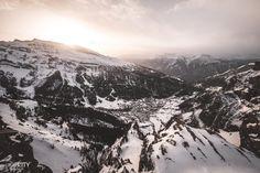 Gemmipass Leukerbad Sonnenuntergang Ausflugsziel Schweiz Winter, Mount Everest, Tours, Mountains, Nature, Travel, Wallis, Switzerland, Swiss Alps
