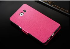 2017 Leather Rose Red Samsung Galaxy S6 Phone Covers Or Cases SG602_23