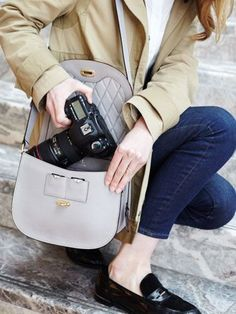 The Claremont - Leather Camera Bag - Designed by Lo & Sons #loandsons