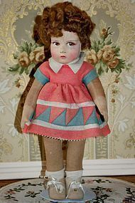 NEW PRICE! Adorable French Raynal Doll in Original Clothes - Antique Doll Treasures #dollshopsunited