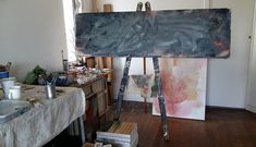 My painting process at its initial stages. Big Shoulders, Painting Process, Studio, Instagram, Studios