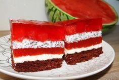 Prajitura cu jeleu de pepene verde Vanilla Cake, Tiramisu, Gem, Pudding, Cooking, Ethnic Recipes, Workshop, Cakes, Ideas