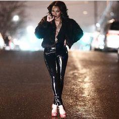 TARA WALLACE Follow on IG @IamTaraWallace Me wearing my favorite sexy red @decovateur in the rain. www.devocateur.com (TARA-promo) #badass #devocateur #devocgirl