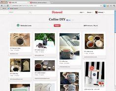 "STARBUCKS   RESTAURATION   BOARD ""Coffee DIY"". CAPITALISER SUR LE CULTURE DIY DE PINTEREST"