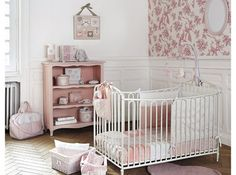 Deco chambre bebe vintage s vintage excellent decoration chambre Nursery Room, Kids Bedroom, Baby Room, Nursery Ideas, Ideas Habitaciones, Kids Collection, Tiny House Plans, Little Girl Rooms, Baby Decor