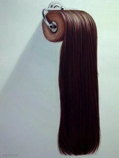 creative product photography and art direction The Very Hairy Art of Hong Chun Zhang Conceptual Art, Surreal Art, Photoshop, Bizarre, Photomontage, Art Object, Design Thinking, Magazine Art, Hair Art