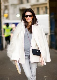 She has to be French. This just screams chic...en francais of course.