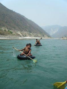 Rafting in Nepal - April 2014