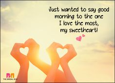 Wake up your lover with these 50 good morning love sms texts! because love is the best feeling EV Good Morning Love Sms, Good Morning Handsome, Good Morning Quotes For Him, Good Morning Texts, Good Morning Sunshine, Good Morning Messages, Morning Wish, Love Quotes For Him, Morning Images