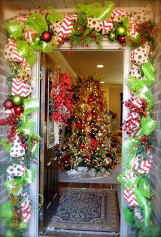 Seasons Greetings door decor & Twine star door decoration | Holidays | Pinterest | More Twine ...