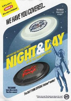Daft Punk Official Frisbee Series