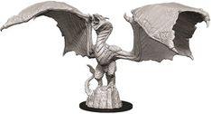 D&D Nolzur's Marvelous Unpainted Miniatures: Wyvern Garden Sculpture, Lion Sculpture, Miniatures, Statue, Outdoor Decor, Amazon, Games, Toys, Amazons