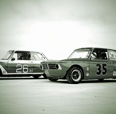 Cool classic BMWs...
